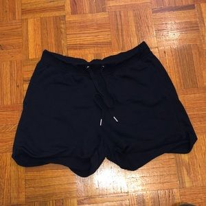 H&M Basic Blue Shorts